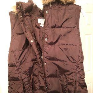 Talbots puffer vest